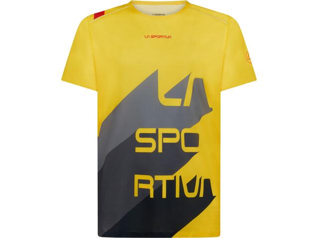 La Sportiva Stream T-shirt Herrer, yellow/carbon